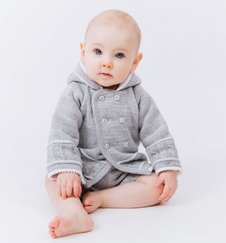 A1570G  Knitted baby jacket